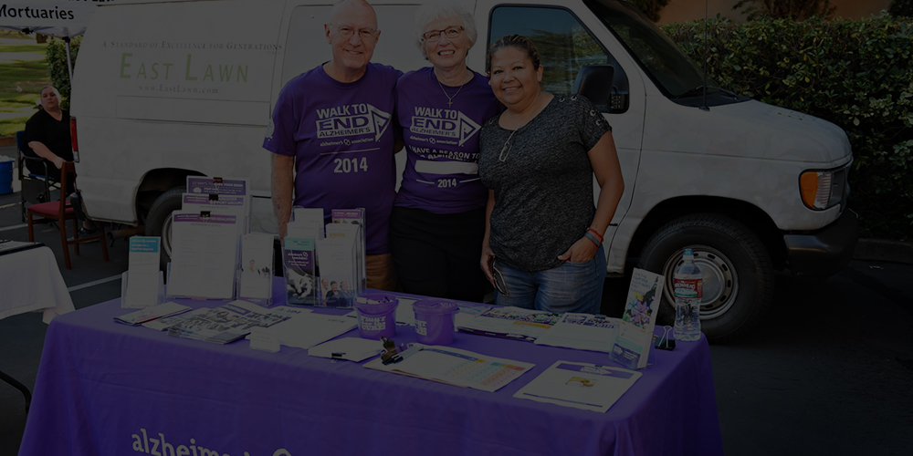 Supporting the Alzheimer's Association