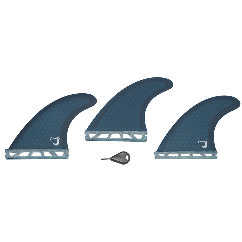 STANDARD RESIN HONEYCOMB FINS - Available in Futures setup.