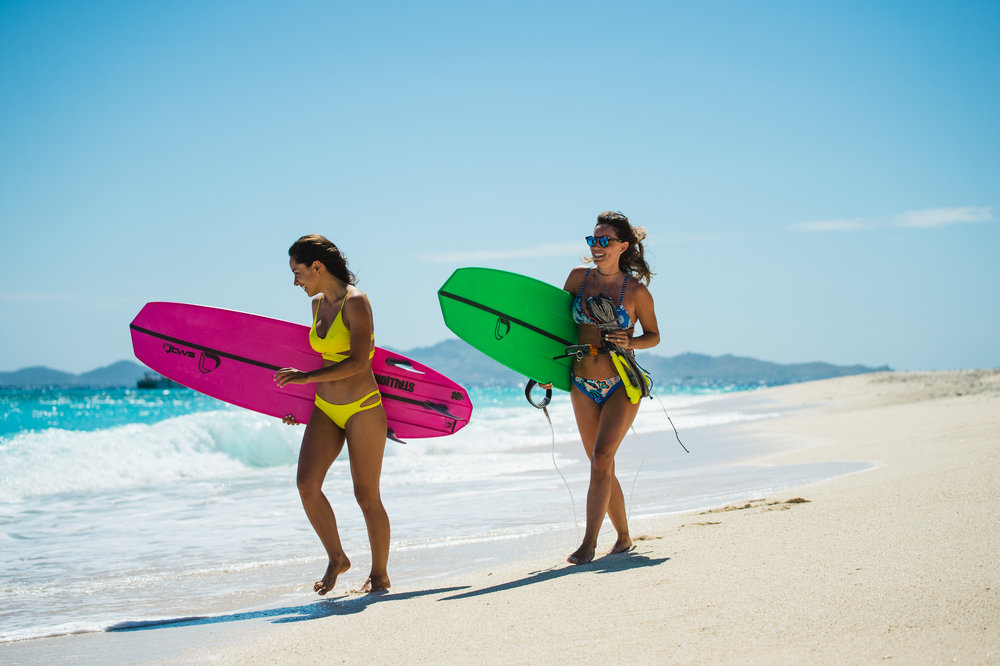 BWSURF Kiteboards - Tough & innovative construction. Unbeatable surf performance.