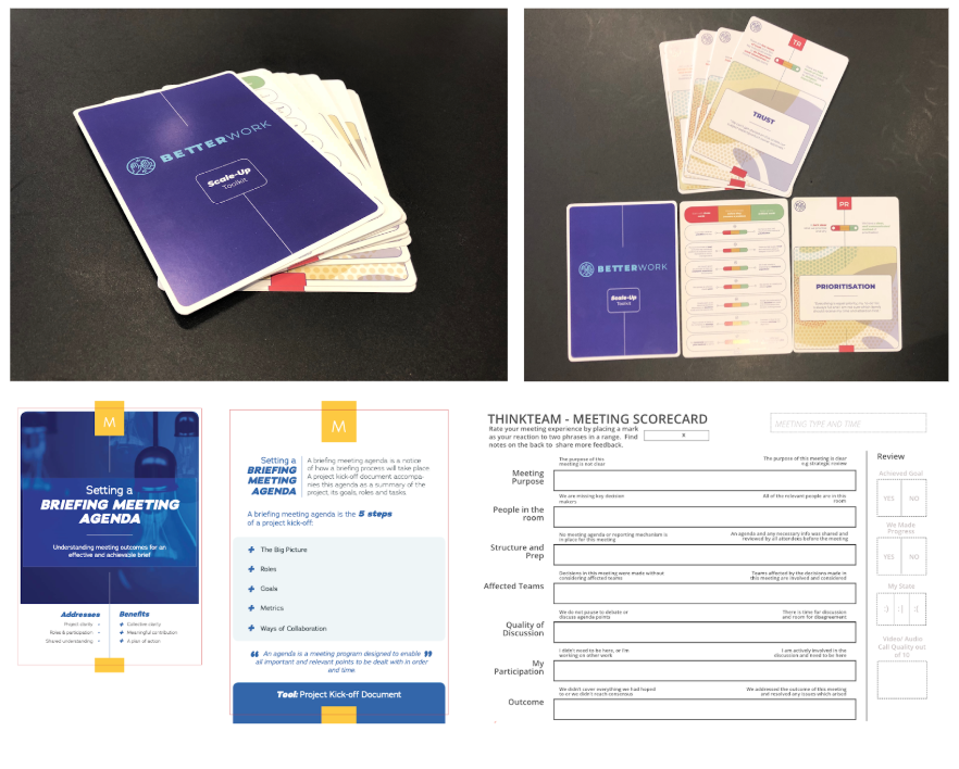 Tools to Make Teams Great - We design tools which support better ways of working. We've developed chat-bots, card-decks, visual facilitation tools and ways for remote teams to have better gatherings.Shop Now
