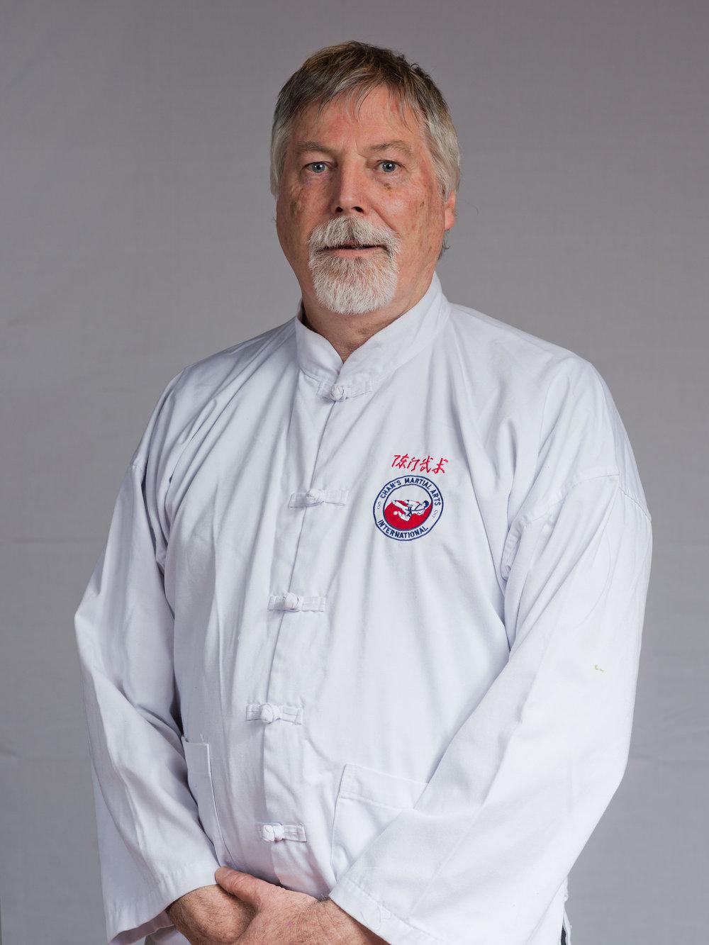Chief Instructor - Dave Clarke Laoshi