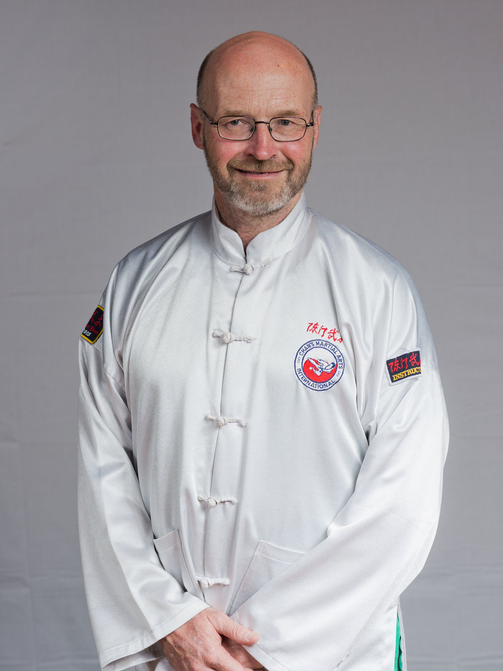 Chief Instructor - Barry Thompson Laoshi
