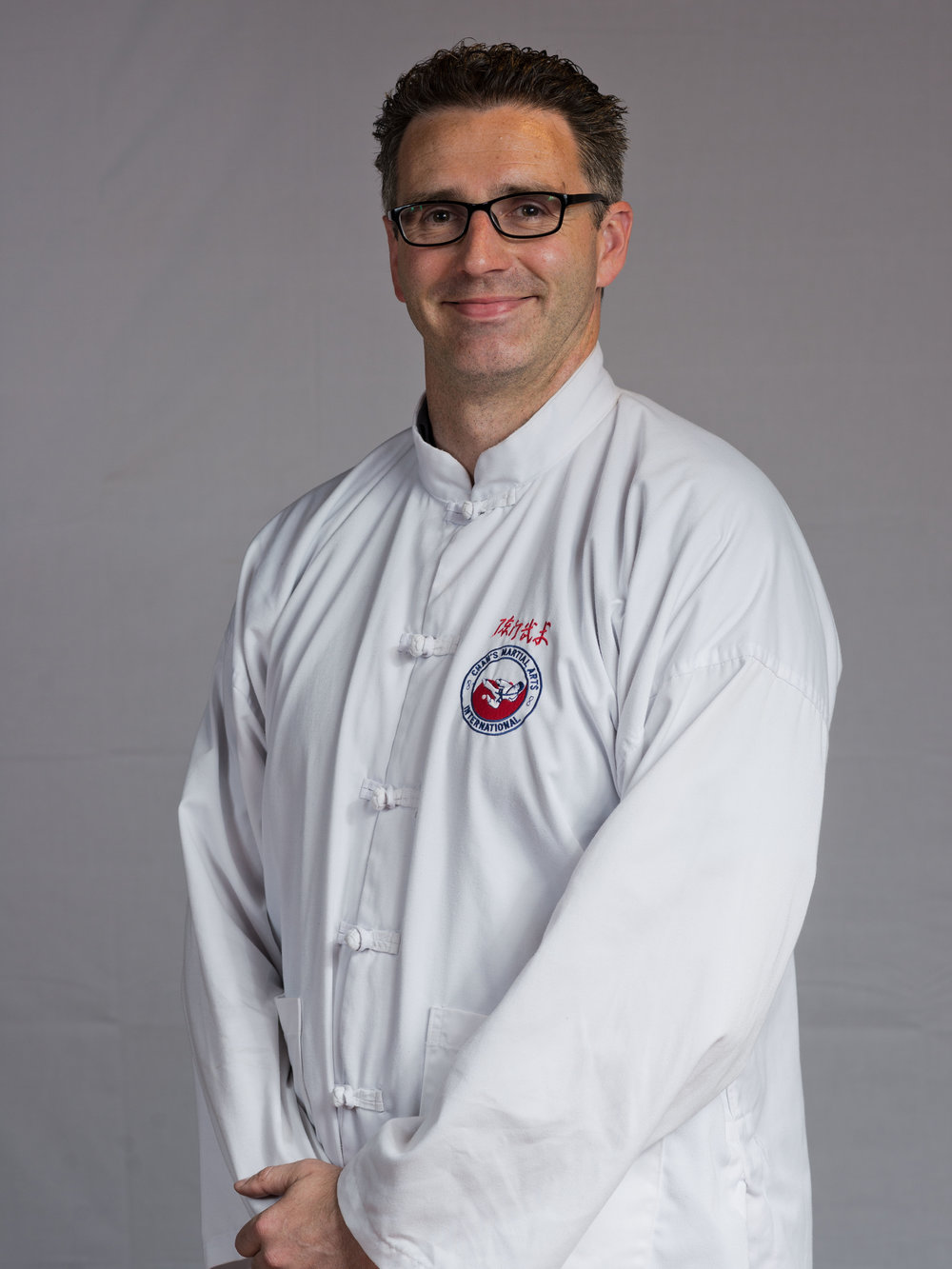 Kung Fu Instructor - Nick Haslett Laoshi