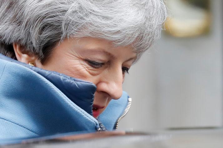 Theresa May by Tolga Akmen for AP