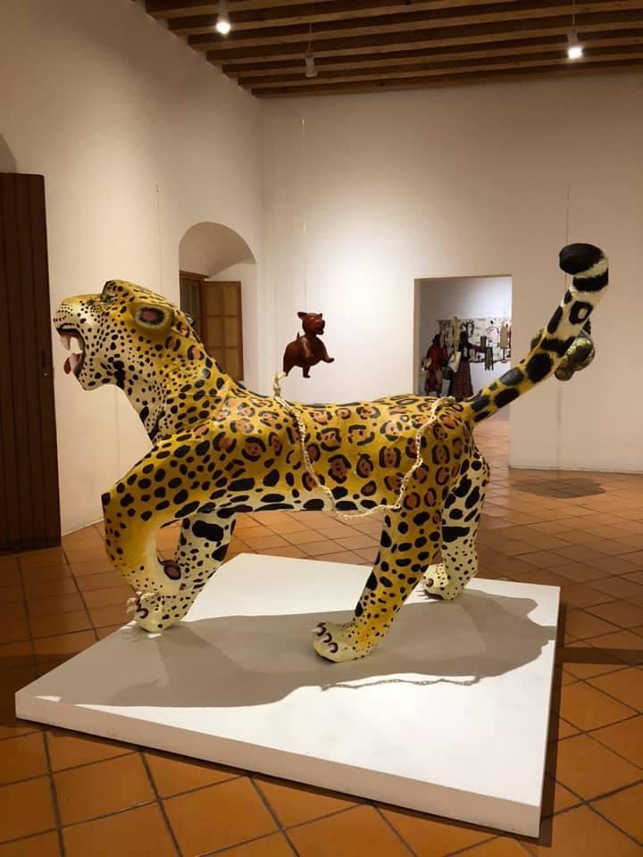 Jaguar, 2018, paper mache