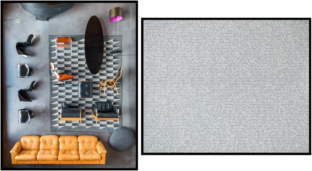 Archeology of Power, diptych, photographs 80cm x 100cm and 100cm x 80 cm