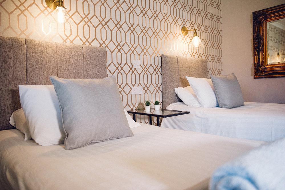 Deluxe Twin Room - Sleeps : 22 Single Beds
