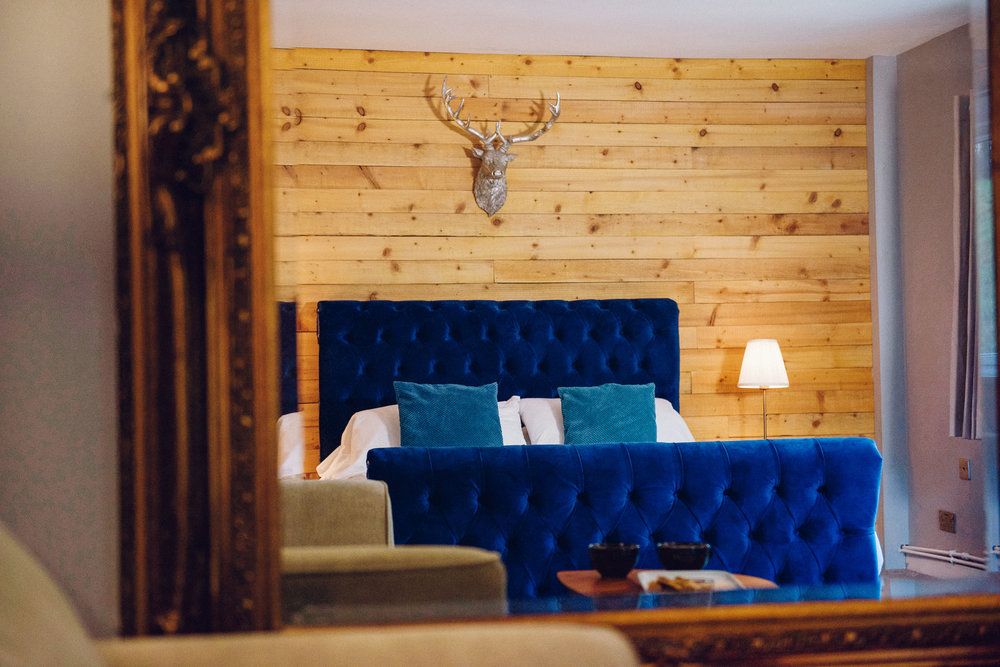King Room with Garden Room - Sleeps : 21 extra large double bed