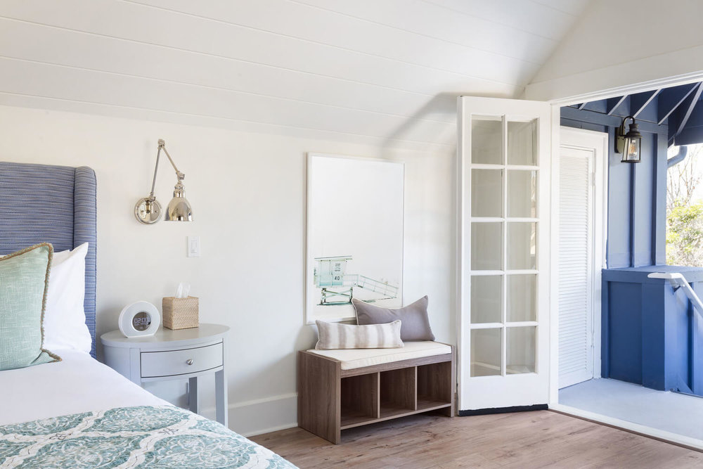 suite with french doors