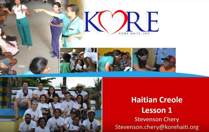 Learn Haitian Creole -