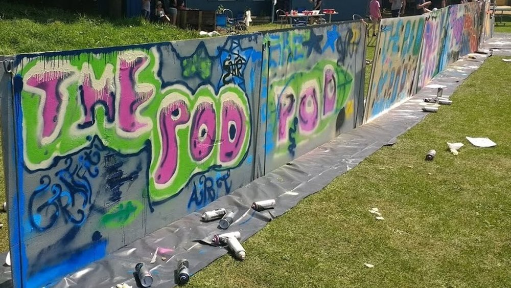 Young Peoples Graffiti Art