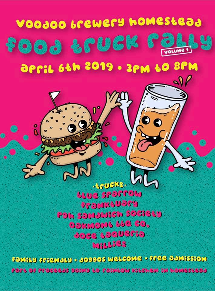 FOOD TRUCK RALLY VOL. 1 flyer