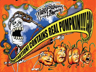 Image of CAUTION! CONTAINS REAL PUMPKIN!!!