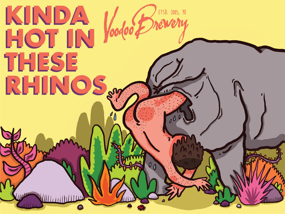 Image of Kinda Hot in These Rhinos