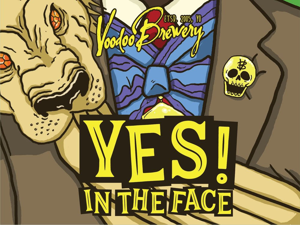 Image of Yes! In the Face