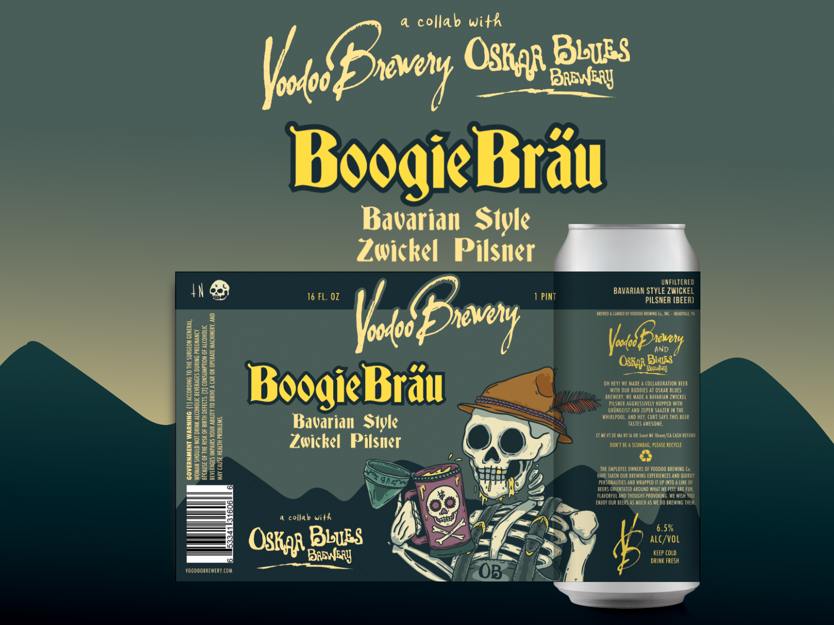 Oskar Blues / Voodoo Brewery Tap Takeover  flyer