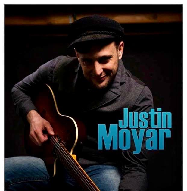 The Patio at Voodoo Erie Presents Justin Moyar flyer