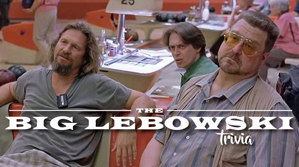 The Big Lebowski Trivia flyer
