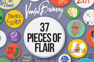 Image of 37 Pieces of Flair