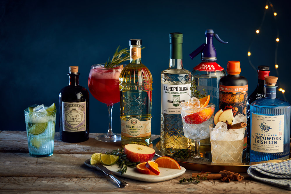 Gin photography for 'Jinuary'