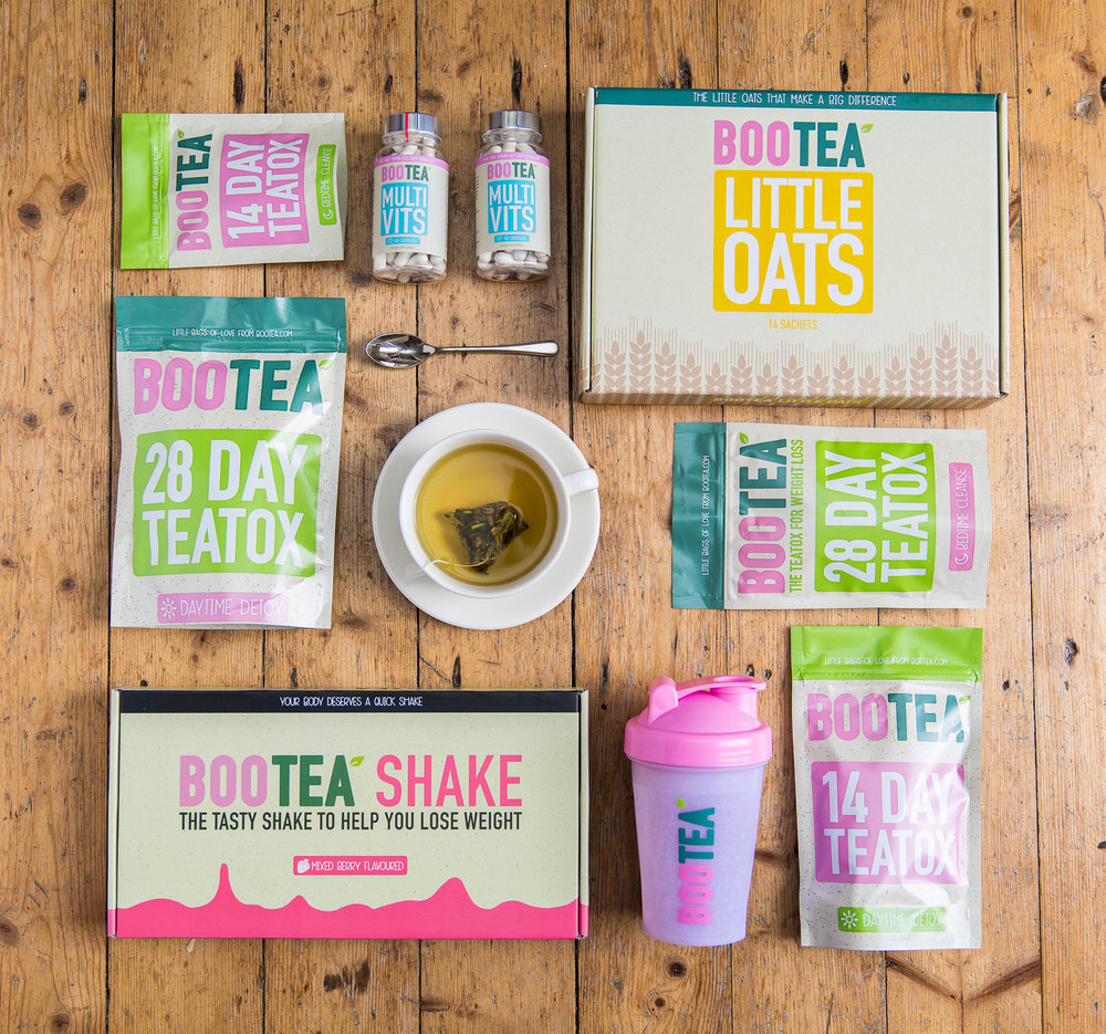 Product photography for Boo Tea