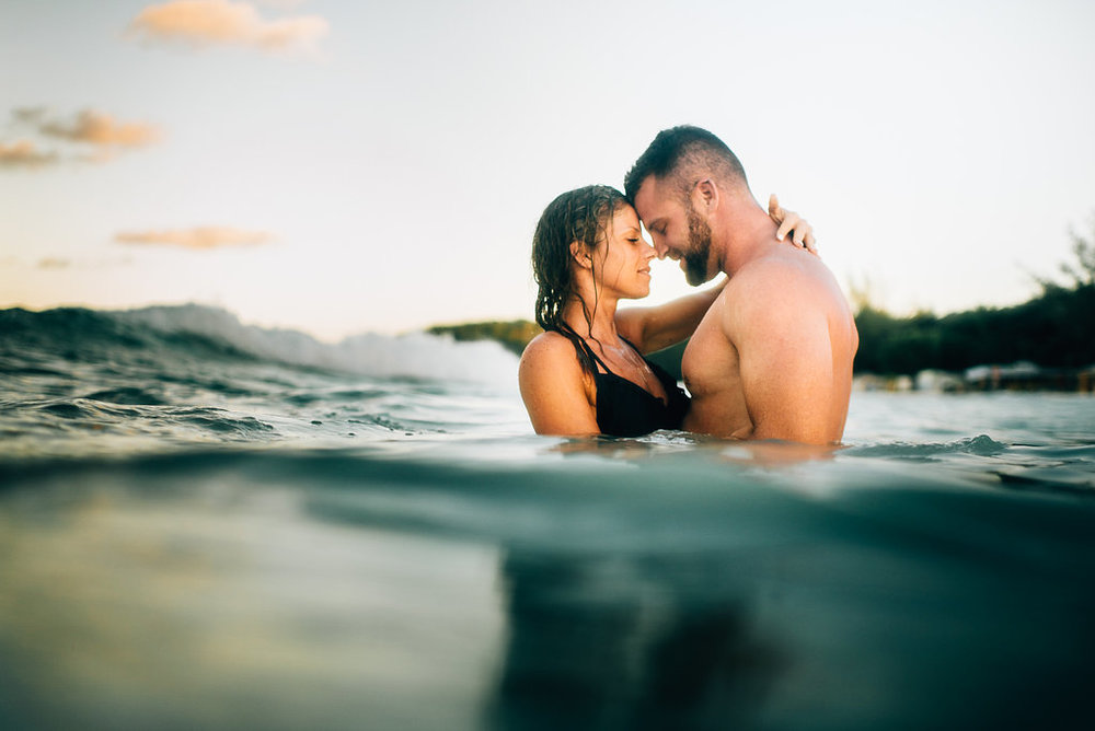 Montego Bay, Jamaica Engagement Session - Sara Monika, Photographer