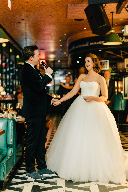 Wedding reception at The Drake 150 in Toronto - Sara Monika, Photographer