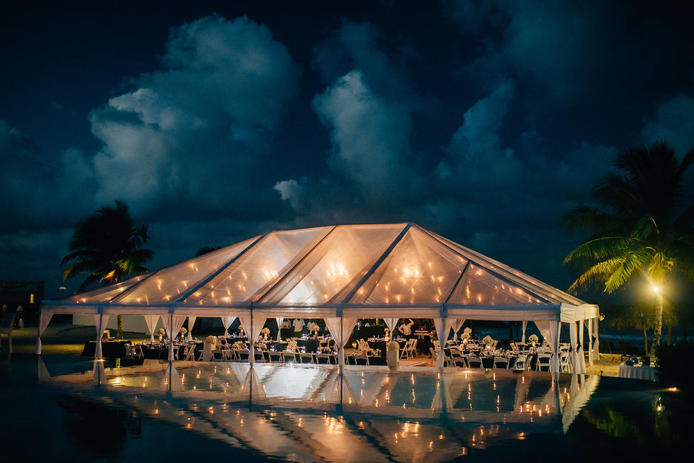 wedding reception at destination wedding at Royalton White Sands in Montego Bay, Jamaica