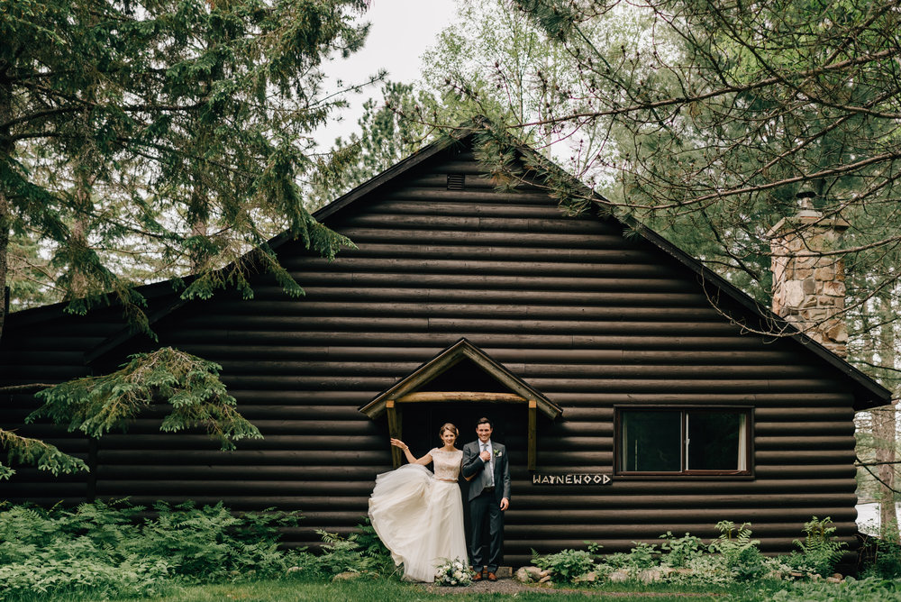 Algonquin Arowhon Pines Wedding