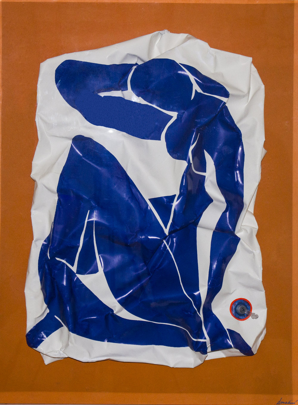 Matisse Bleu (Gonflable) - 2013Mixed Media91 x 69 cm