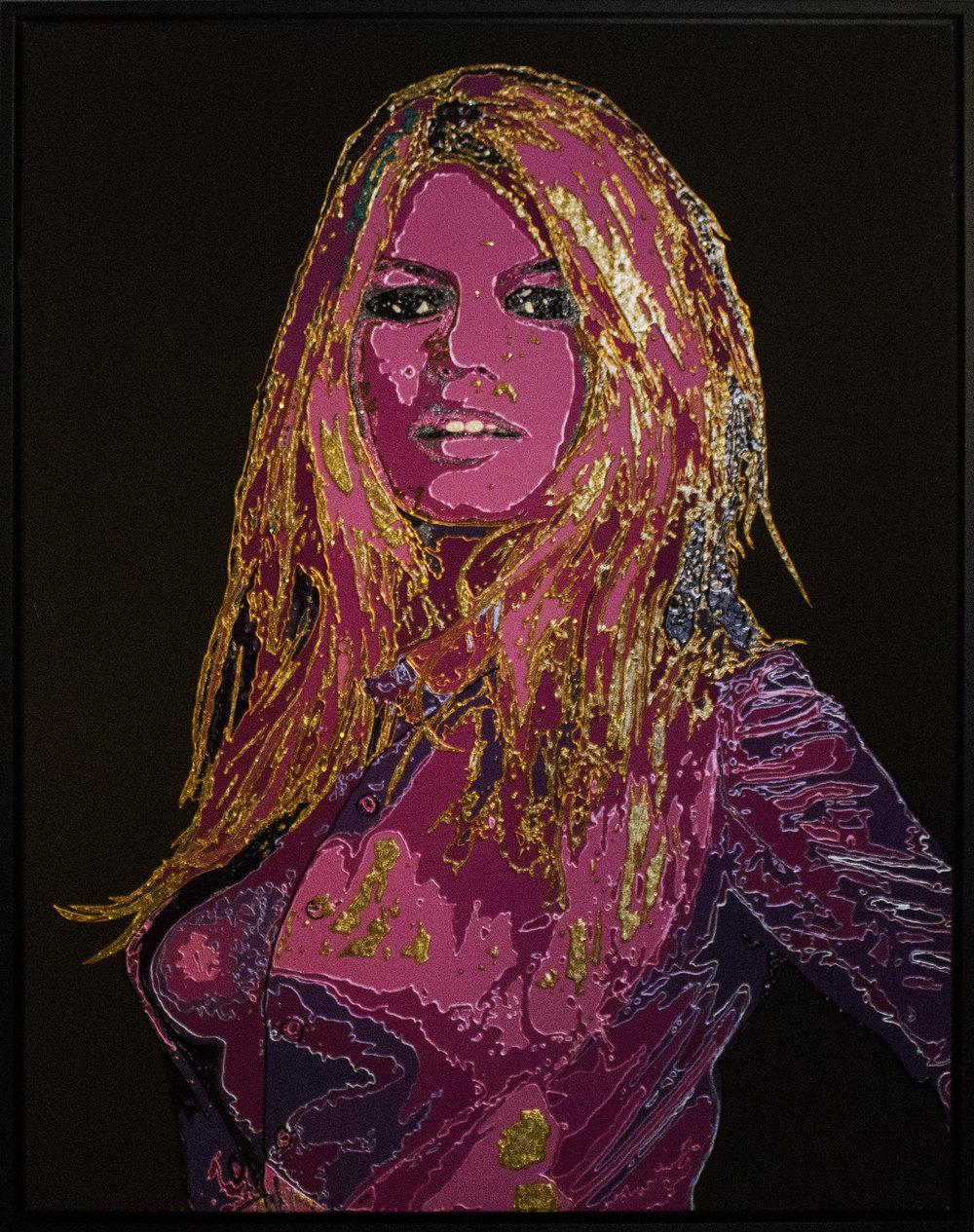 Brigitte Bardot - 2013Mixed media114 x 146 cm