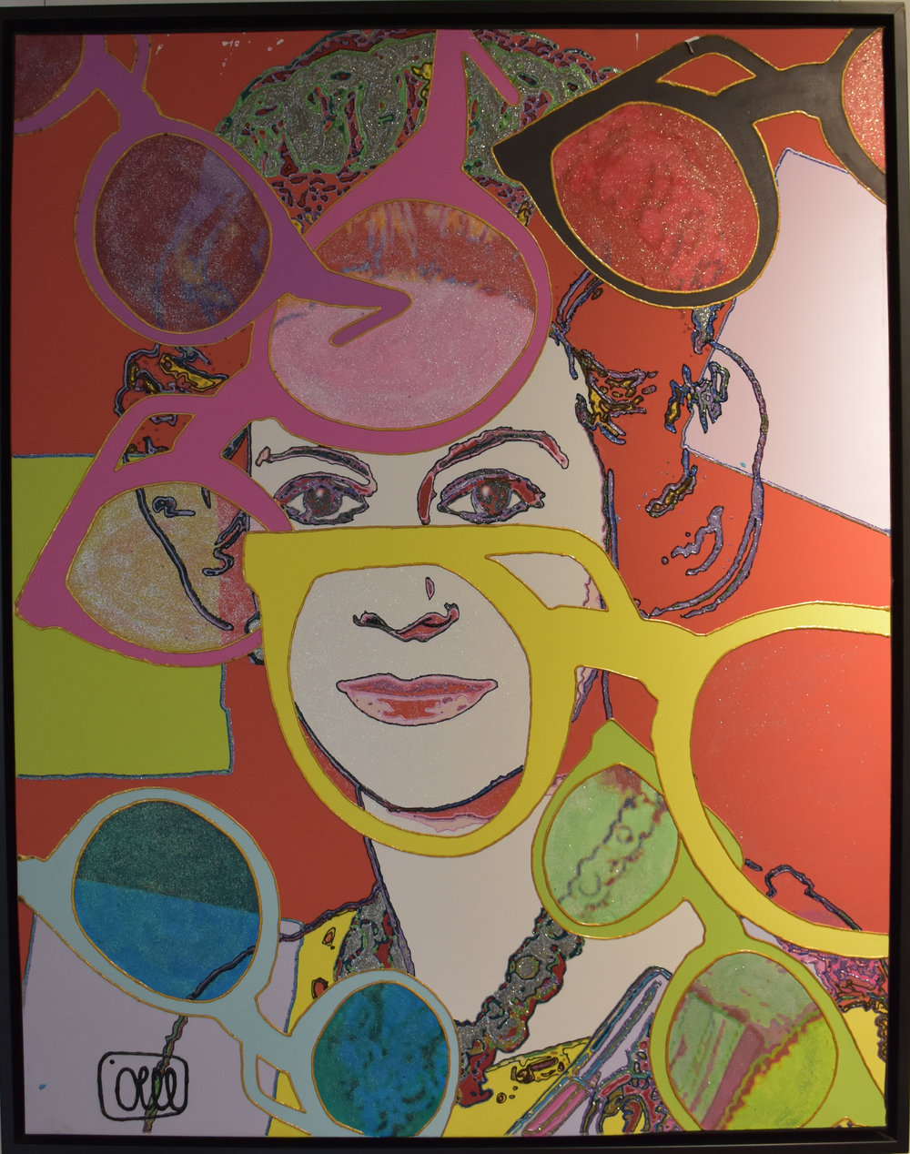 Queen Elizabeth - 2013Mixed media160 x 114 cm