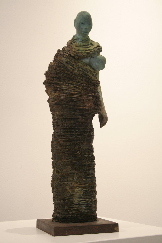 Maternidad - Bronze15 x 20 x 60 cm
