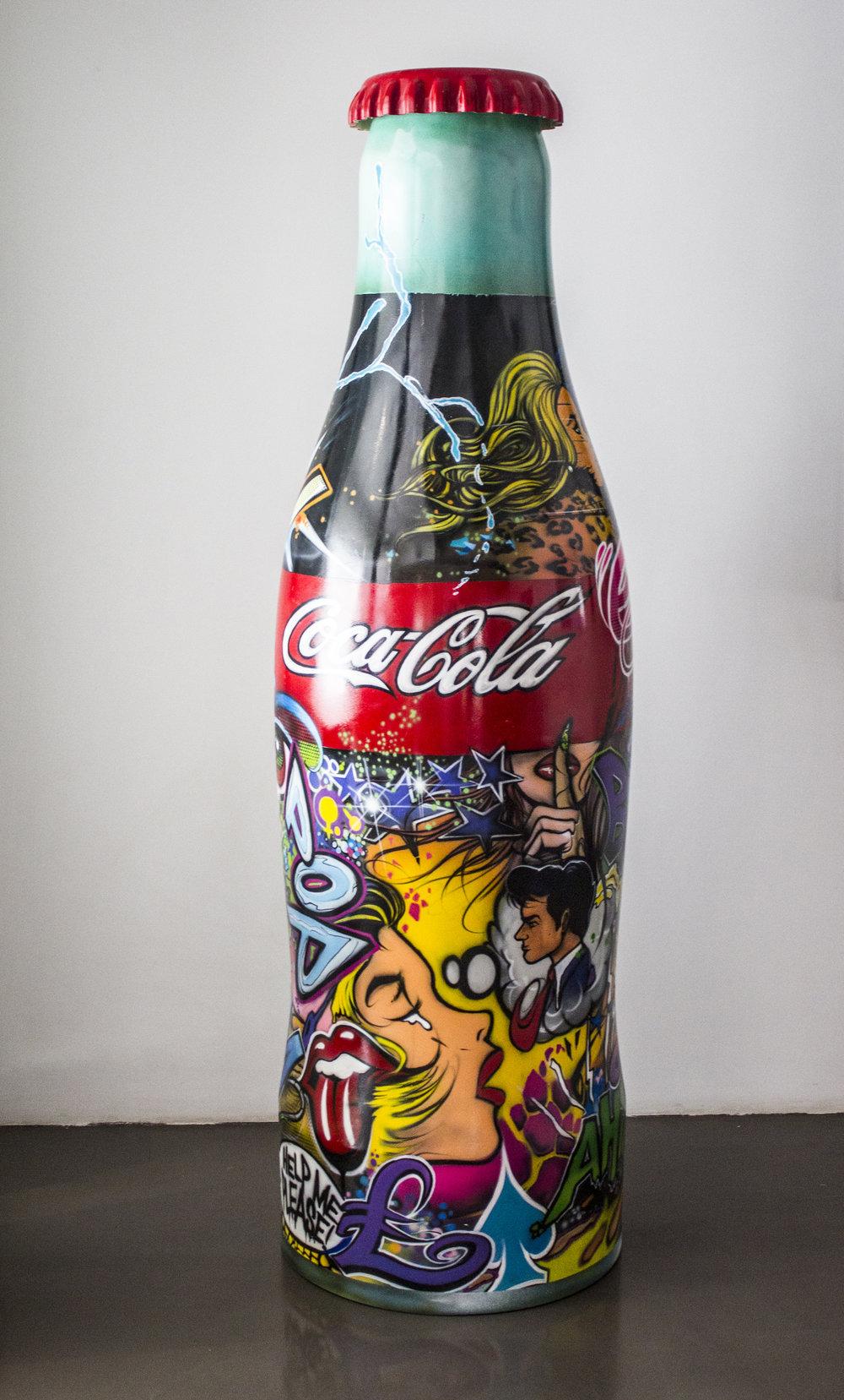 Coca-Cola - 2012Resin and bronze powder1/1200 x 180 x 60 cm