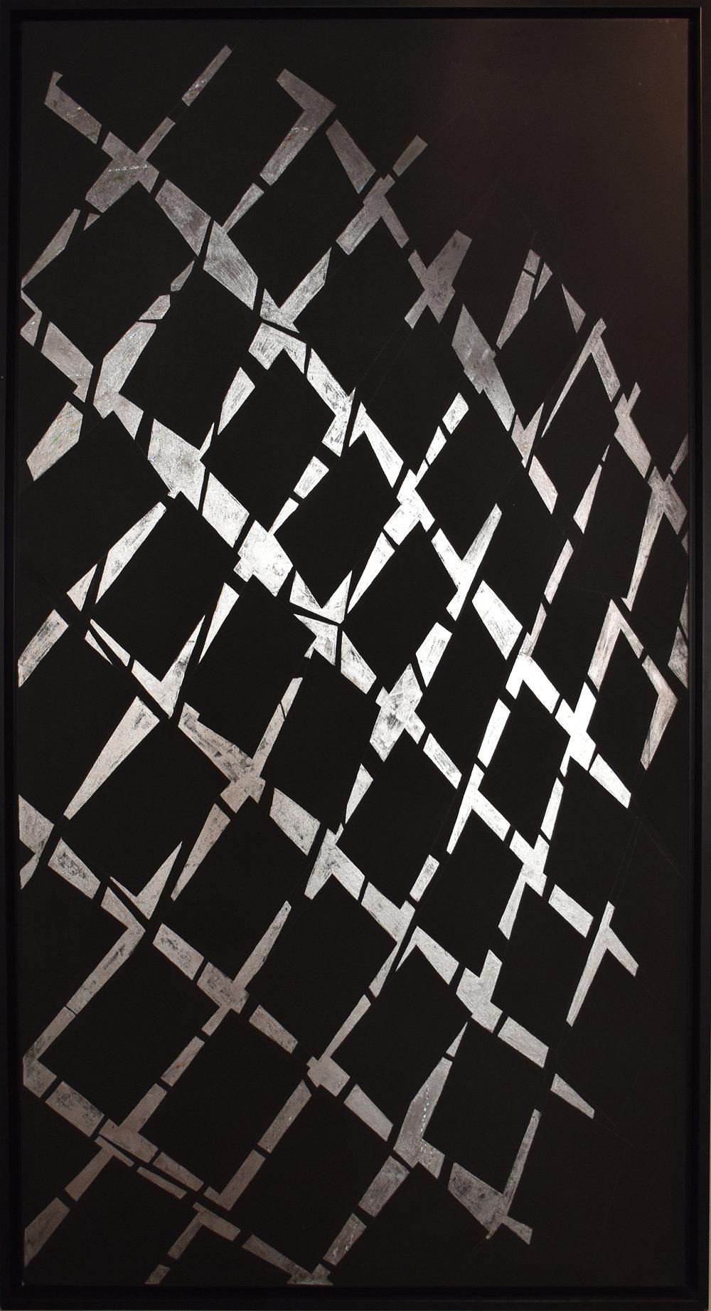 Primigenia 3 - 2011Mixed media on canvas200 x 100 cm