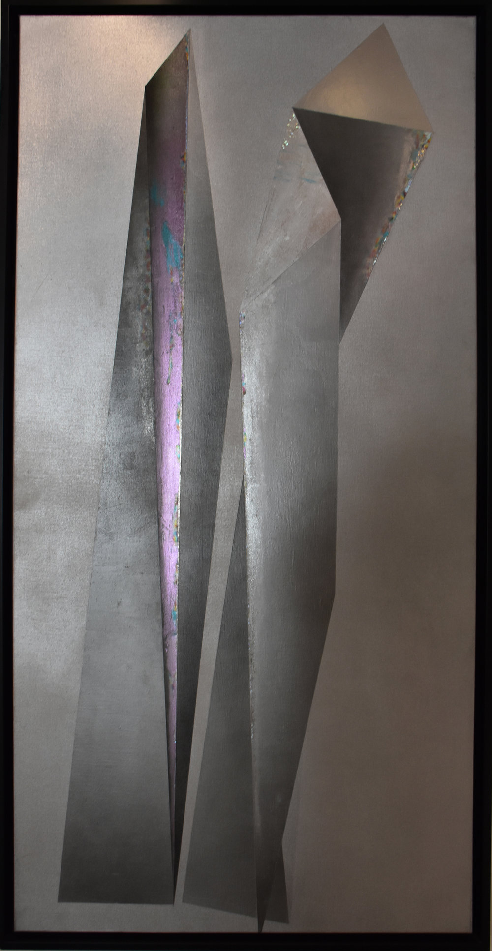 The Moonlight 2 - 2008Mixed media on canvas200 x 100 cm