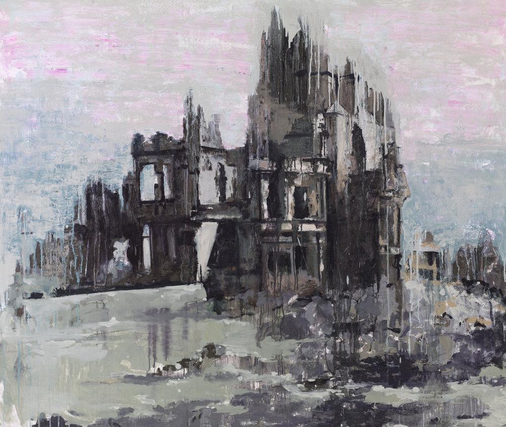 Historical Buildings 2 - Oil on canvas180 x 200 cm