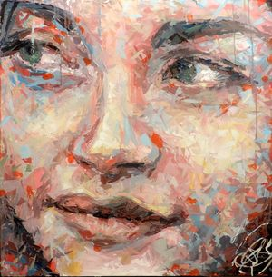 Admirable, Avenue Victor Hugo - Acrylic on canvas80 x 80 cm