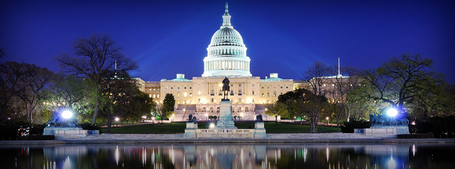 The U.S. Capitol Building is located just 3 blocks from the Washington Court Hotel. Go to the Visitor's Center to sign up for tours or visit your representatives in the House and Senate Office Buildings.