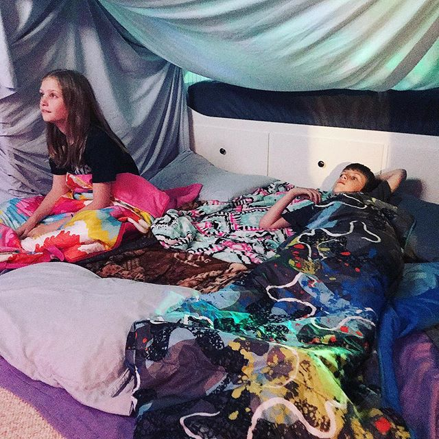 Spring Break forts for the win!