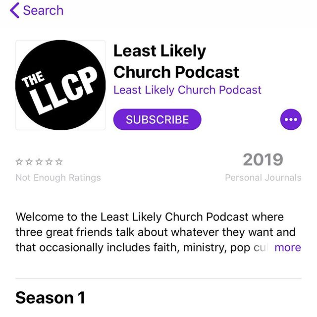 Hey! We're live on Apple now! Check it out!