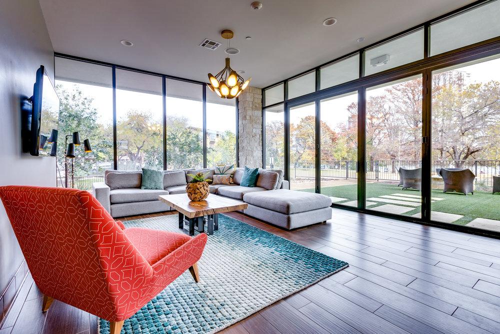 Water Marq - Austin, Texas (Interior Lounge)