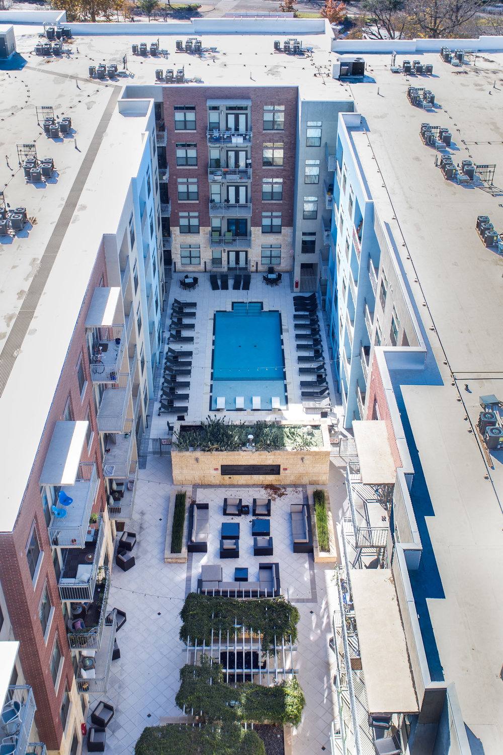 Coldwater - Austin, Texas (Pool view from above)