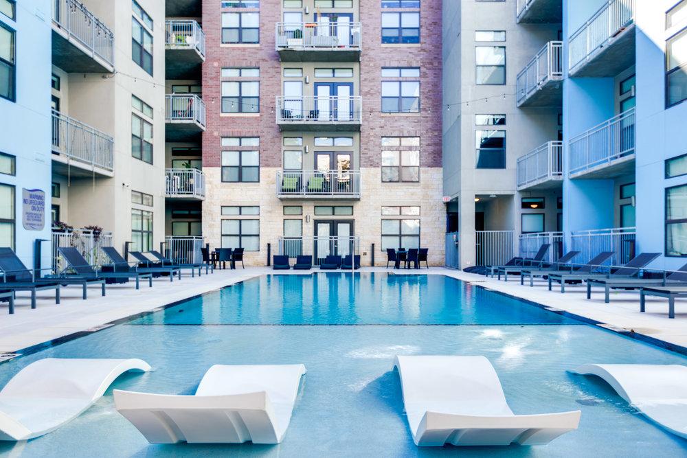 Coldwater - Austin, Texas (Interior Courtyard & Pool)