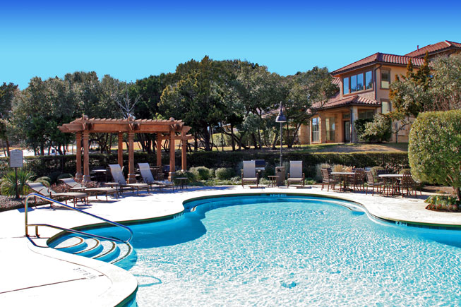 Escondera Condominiums - Austin, Texas (Pool Area)