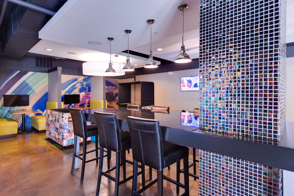 Axis West Campus - Austin, Texas (Student Lounge)