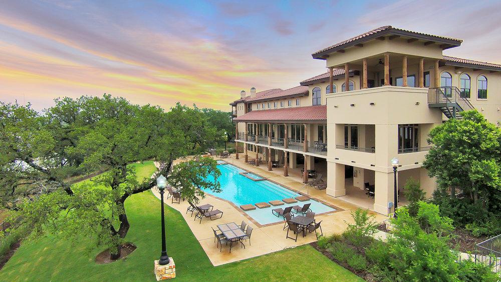 Muir Lake - Cedar Park, Texas (Clubhouse & Pool)
