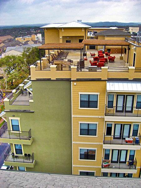 Block at Rio Grande - Austin, Texas (Rooftop Patio)