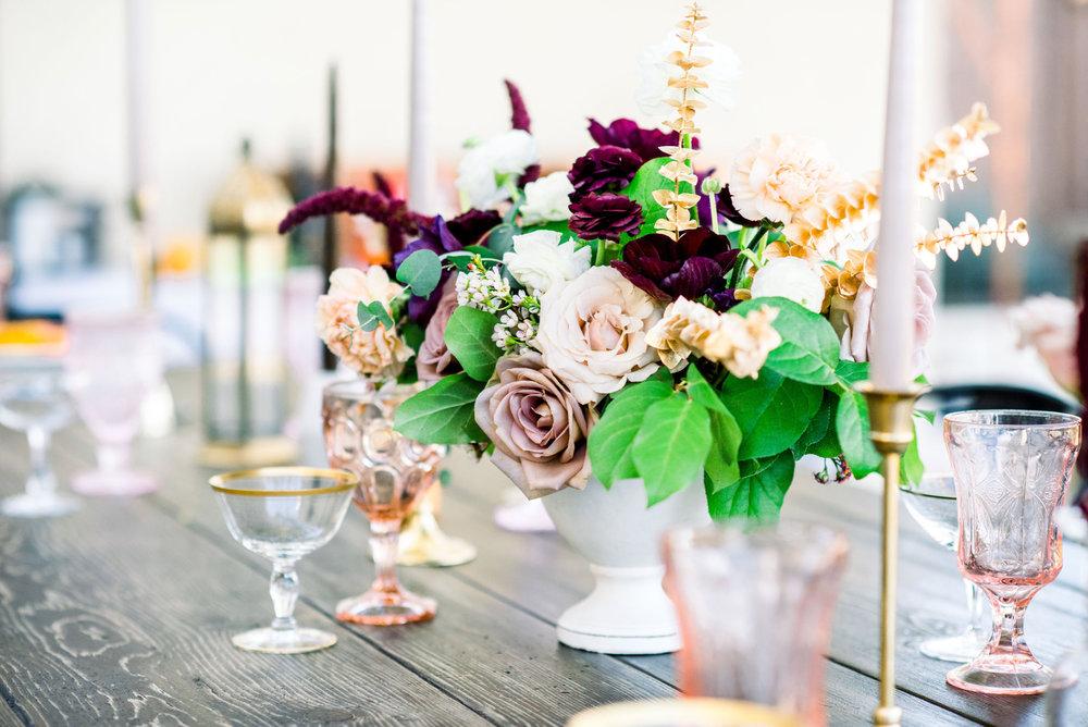 Birthday Flowers - Whimsy Purples