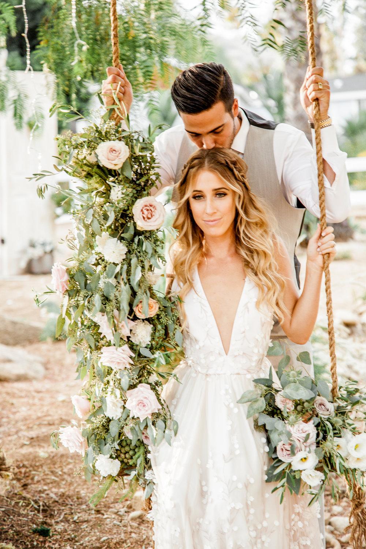 Boho Chic Flowers - San Diego Weddings